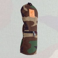 Rose & Fire Woodland Camouflage Headcover