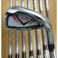 Tourstage X-Blade GR Irons 5-PW,AW,SW Steel Regular (Used)