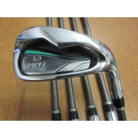 Bridgestone Phyz 6-PW Irons Graphite Stiff-Regular (Used)
