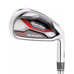 Taylormade Aeroburner HL Irons Lady's 5-PW, AW & SW Graphite Lady