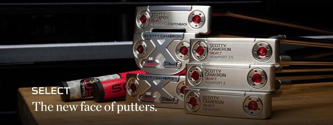 Scotty Cameron Select 2016 Putters