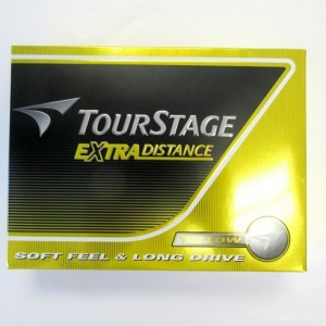 Tourstage Extra Distance Yellow Ball
