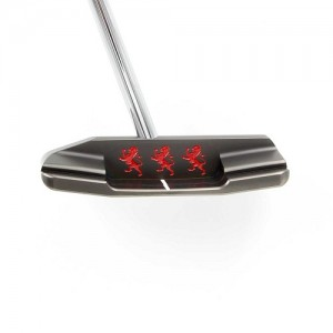 Piretti Cottonwood II Center Shaft Black Onyx Putter