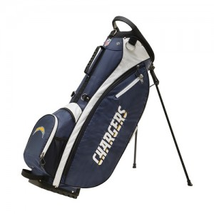 Wilson NFL Stand Bag - Los Angeles Chargers